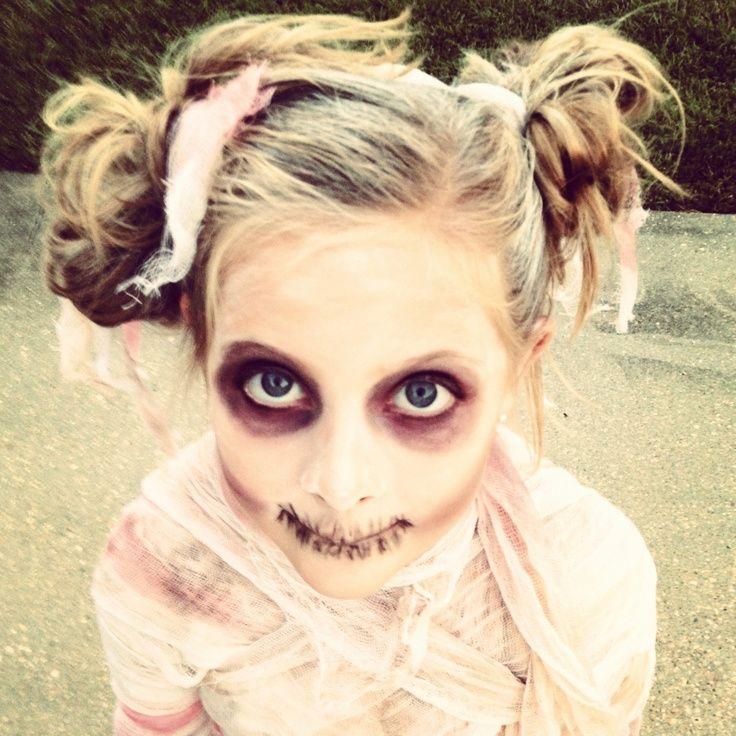 Mummy Costume made from Dollar store Halloween Decor!! (2012 ...