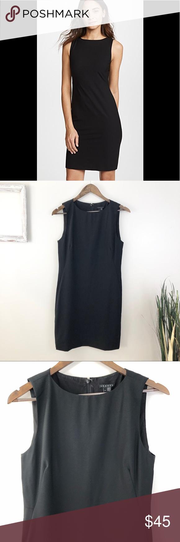 Theory Ponte Wool Blend Sheath Dress Theory Ponte Wool Blend Sheath Dress Great … – My Posh Closet