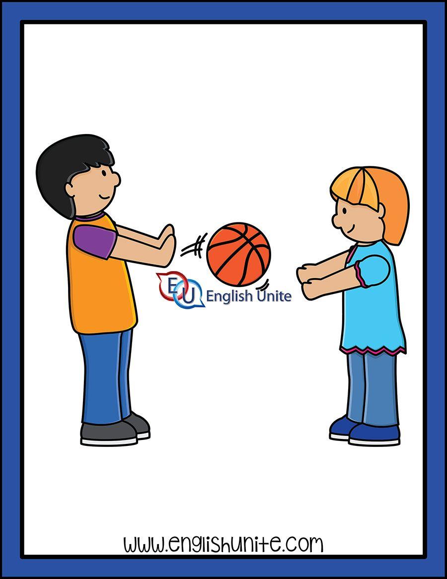 Twin Endings Pass English Unite Clipart Kids Clip Art Alphabet Pictures