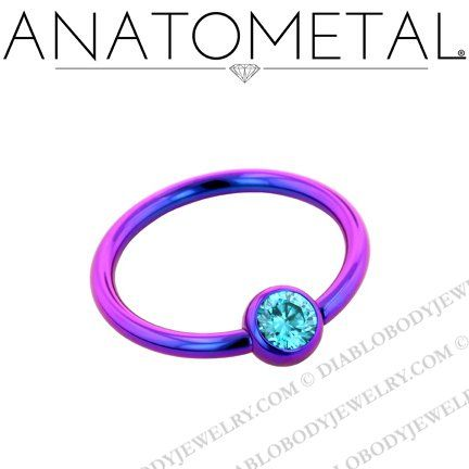 8aad640a1fb93 A favorite! ($21.50) Anatometal Titanium Captive Gem Ball Bead ...