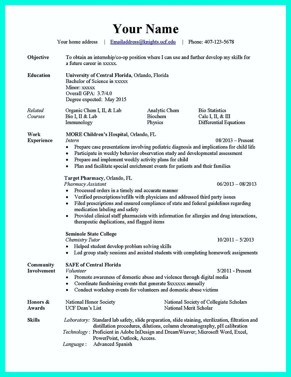 nice the best computer science resume sample collection check more at http - Resume Format For Life Science