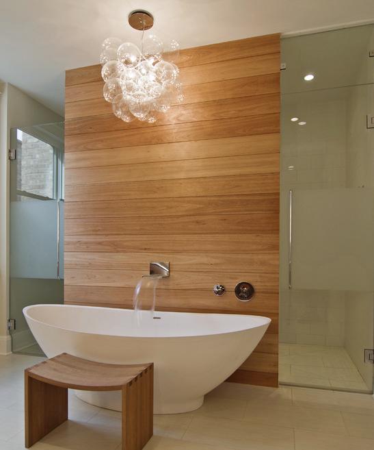 Bathroom Light Fixtures Chicago: Contemporary Bathroom : Incredible Light Fixture : Tub