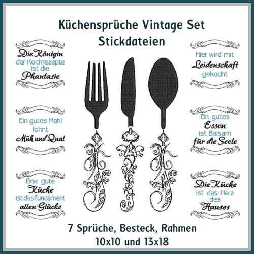 Küchensprüche Vintage Set http://www.rock-queen.de/epages/78332820.sf/de_DE/?ObjectPath=/Shops/78332820/Products/2125