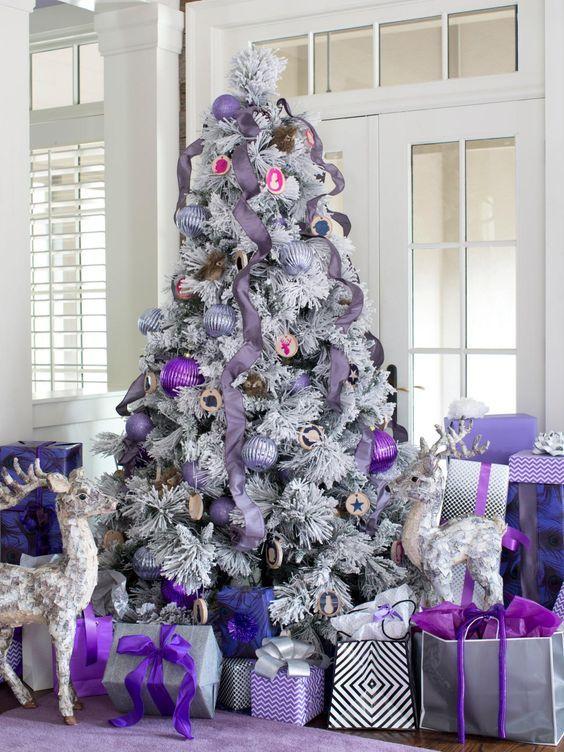 Top Purple Christmas Decorating Ideas Color