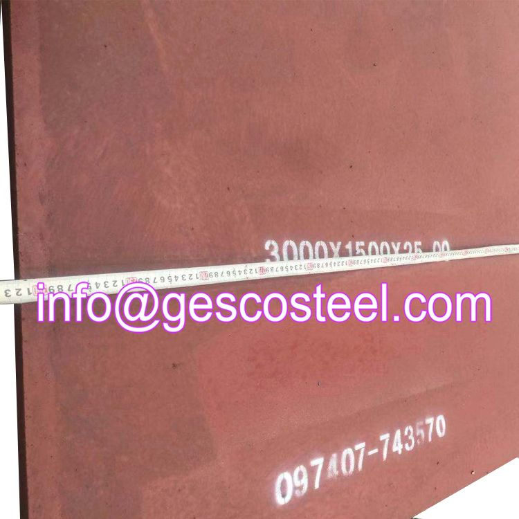 Wear Resistant Steel Plate Let S Talk About More Details By Email Info Gescosteel Com Or You Can Click The Picture To Visit Our Page Www Gneesteel