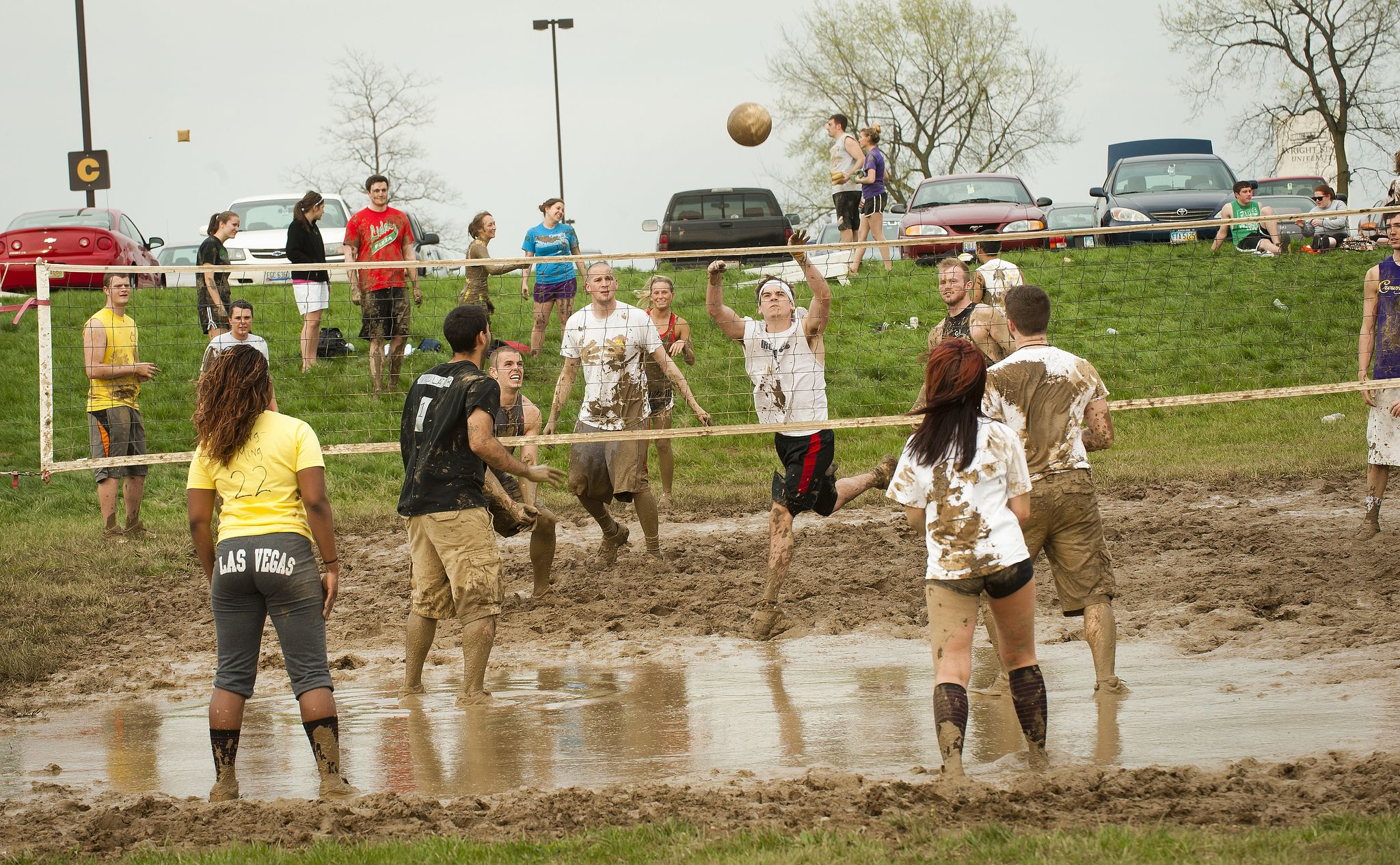 Mud Volleyball Is One Of The Highlights Of Senior Week Senior Week Volleyball Hipster