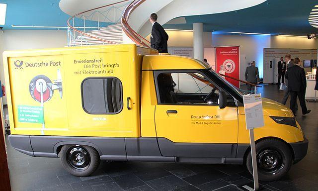 Liste von Postfahrzeugen Wikipedia Deutsche post ag