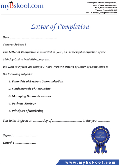 Paid certification program which termed executive certificate paid certification program which termed executive certificate service letter completion sample project yadclub Gallery