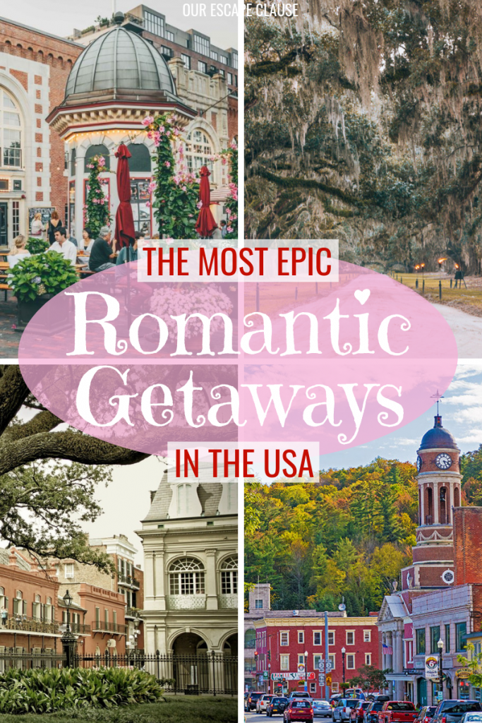 Photo of 25 Most Romantic Getaways in the USA – Our Escape Clause