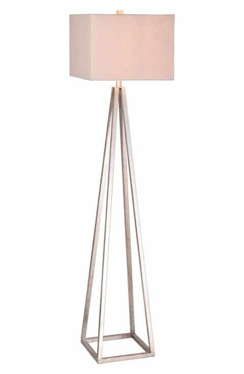 JAlexander Carrie Open Caged Metal Floor Lamp