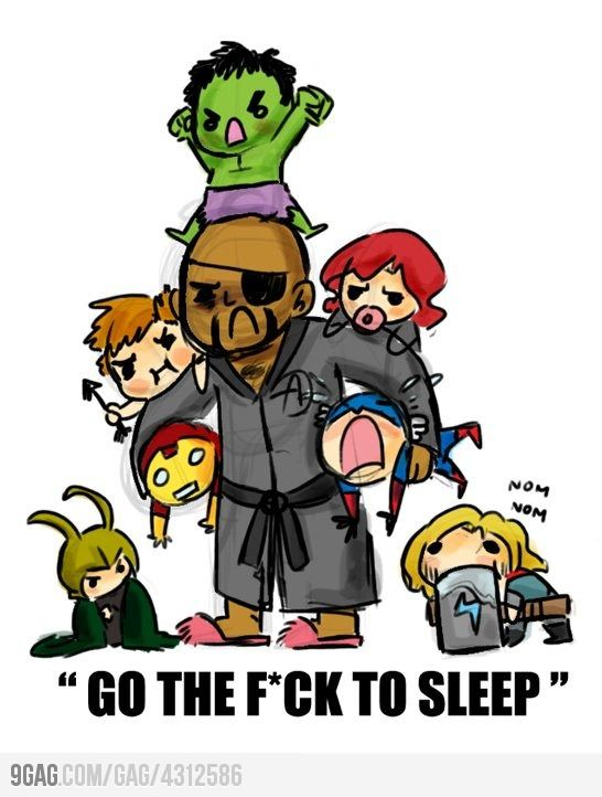 @Mariela Nieves The Baby Avengers~!!