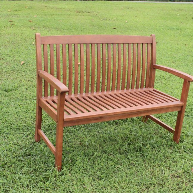 Cambridge Wooden Garden Bench - 3 Seater - Simply Wood in ...