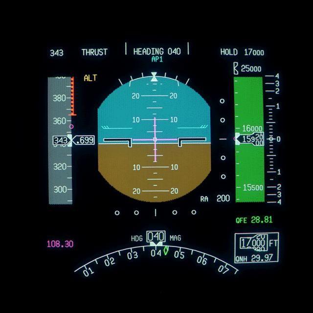 MD-11 Primary Flight Display
