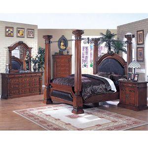 Roman Empire Canopy Bedroom Set 9326 33 40 A