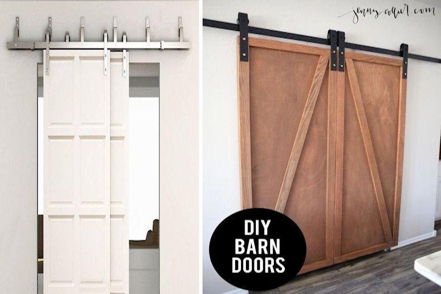 Barn Style Interior Doors Premade Barn Doors Interior Sliding Barn Door Bathroom In 2020 Barn Door Installation Inside Barn Doors Diy Barn Door