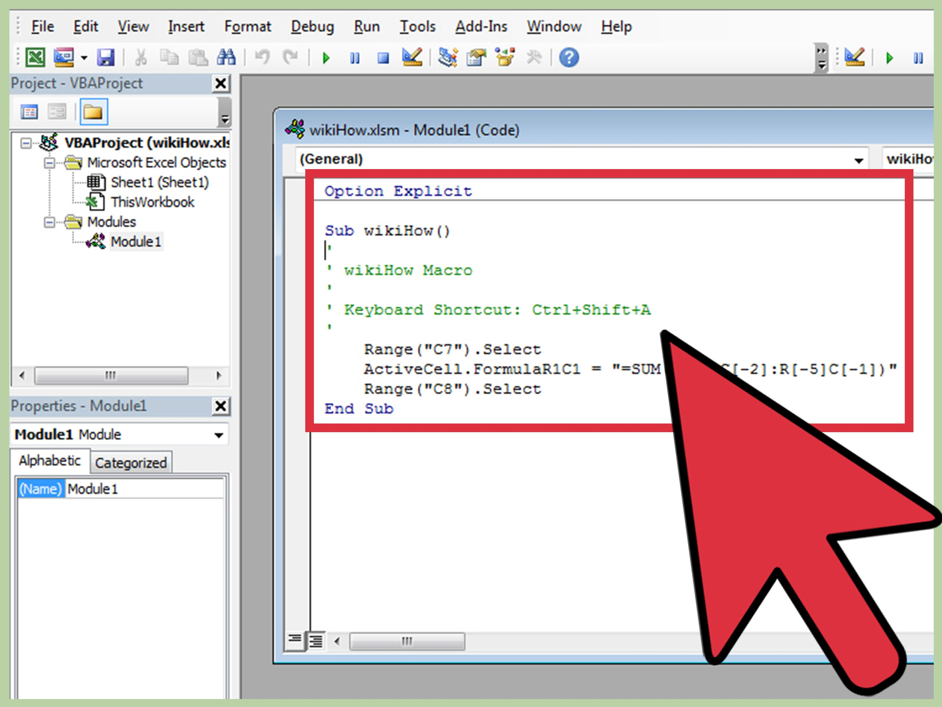 Write a Simple Macro in Microsoft Excel Microsoft excel