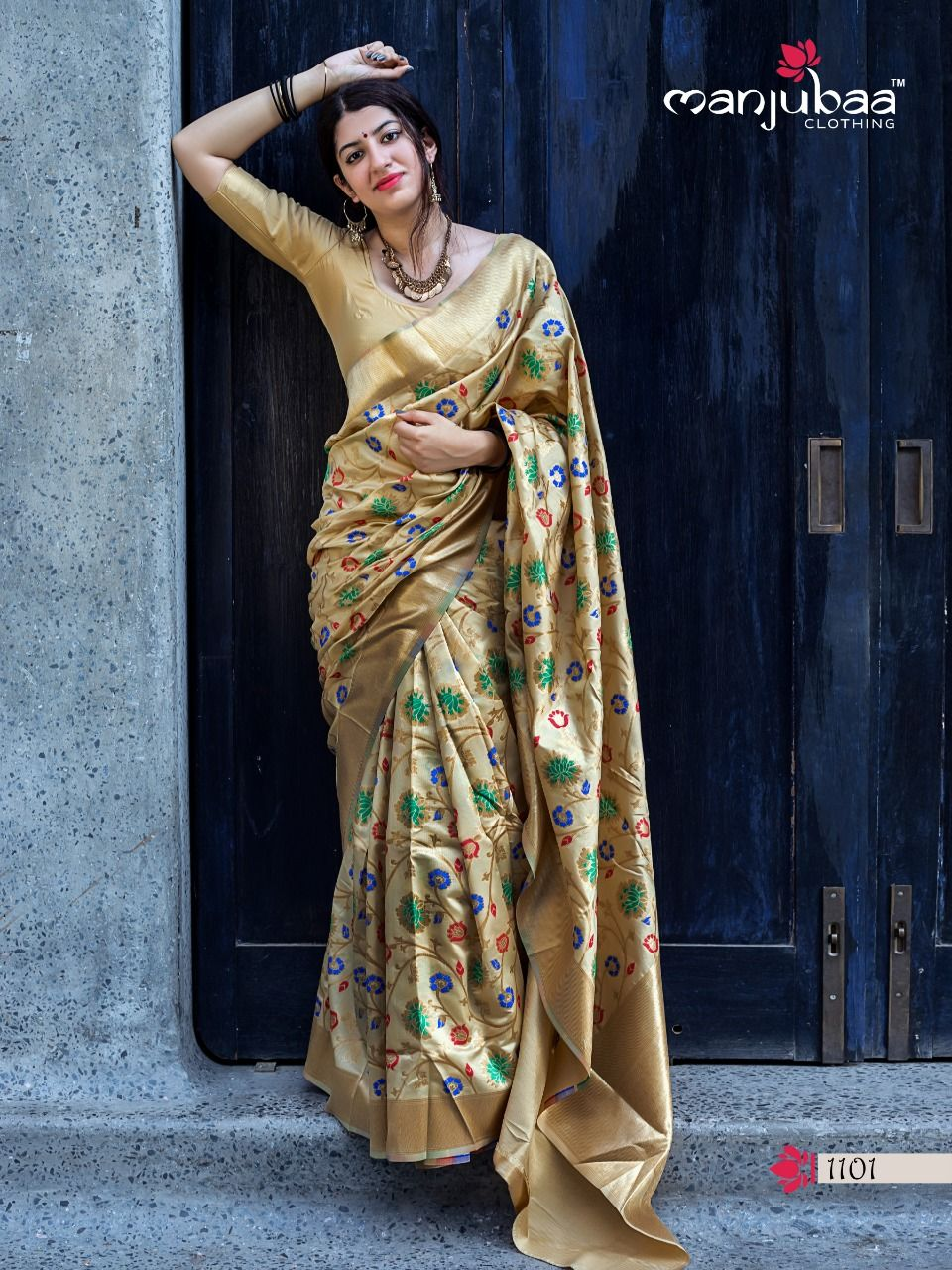 e6c2b3c02c Book order or inquiry now call or whatsapp : ( +91 ) 8866444471 manjubaa  clothing lotus vol 11 soft silk sarees online wholesale #IndianClothStore  ...