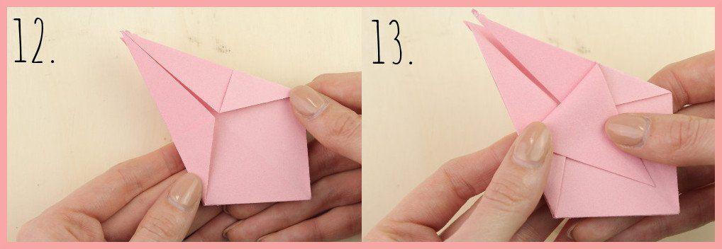 Origami Sternschachtel Falten Einfach Schön Diy