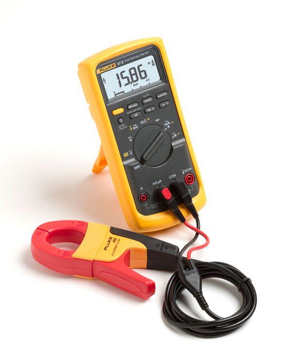 Fluke 87 V Industrial Multimeter Designed To Identify Complex Signal Problems Fast Fluke 87v Delivers The Accuracy Multimeter Display Resolution Work Tools