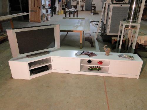 meuble d'angle sur mesure sur paris | home | pinterest | paris - Meubles Tv D Angle Design