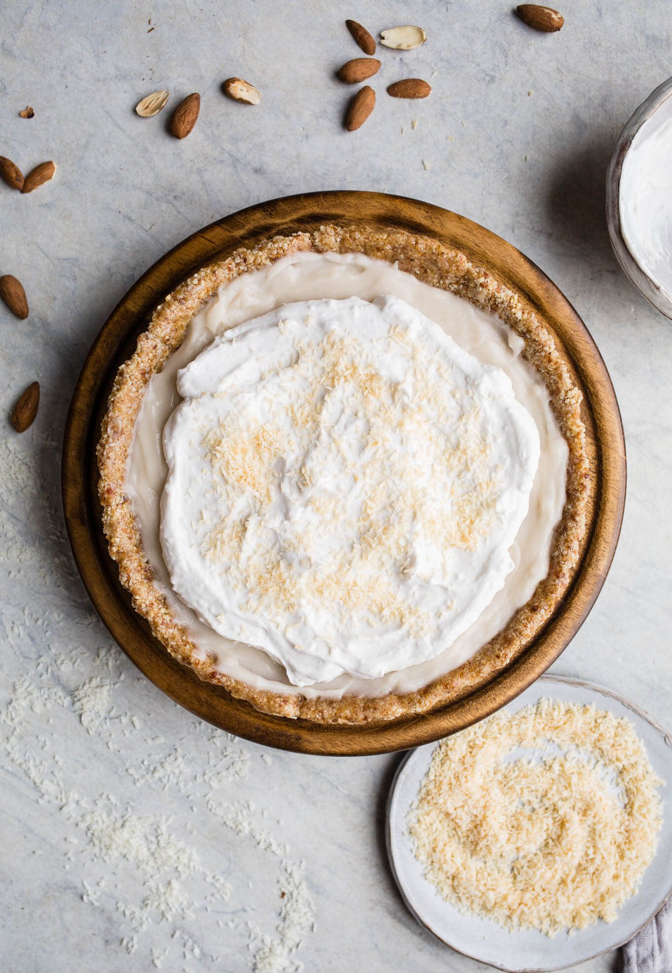 Banana Cream Pie with Whole Grain Chocolate Crust | Life is short ...