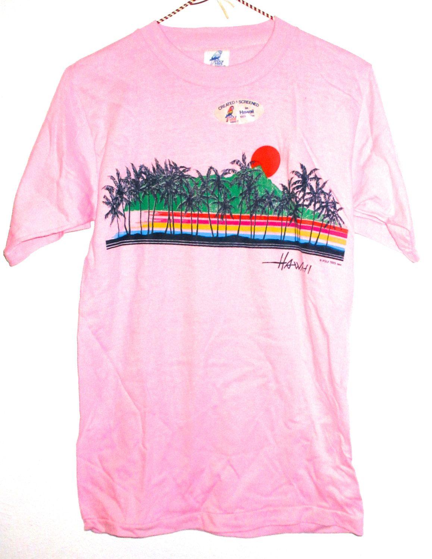 hawaiian tee shirts for ladies