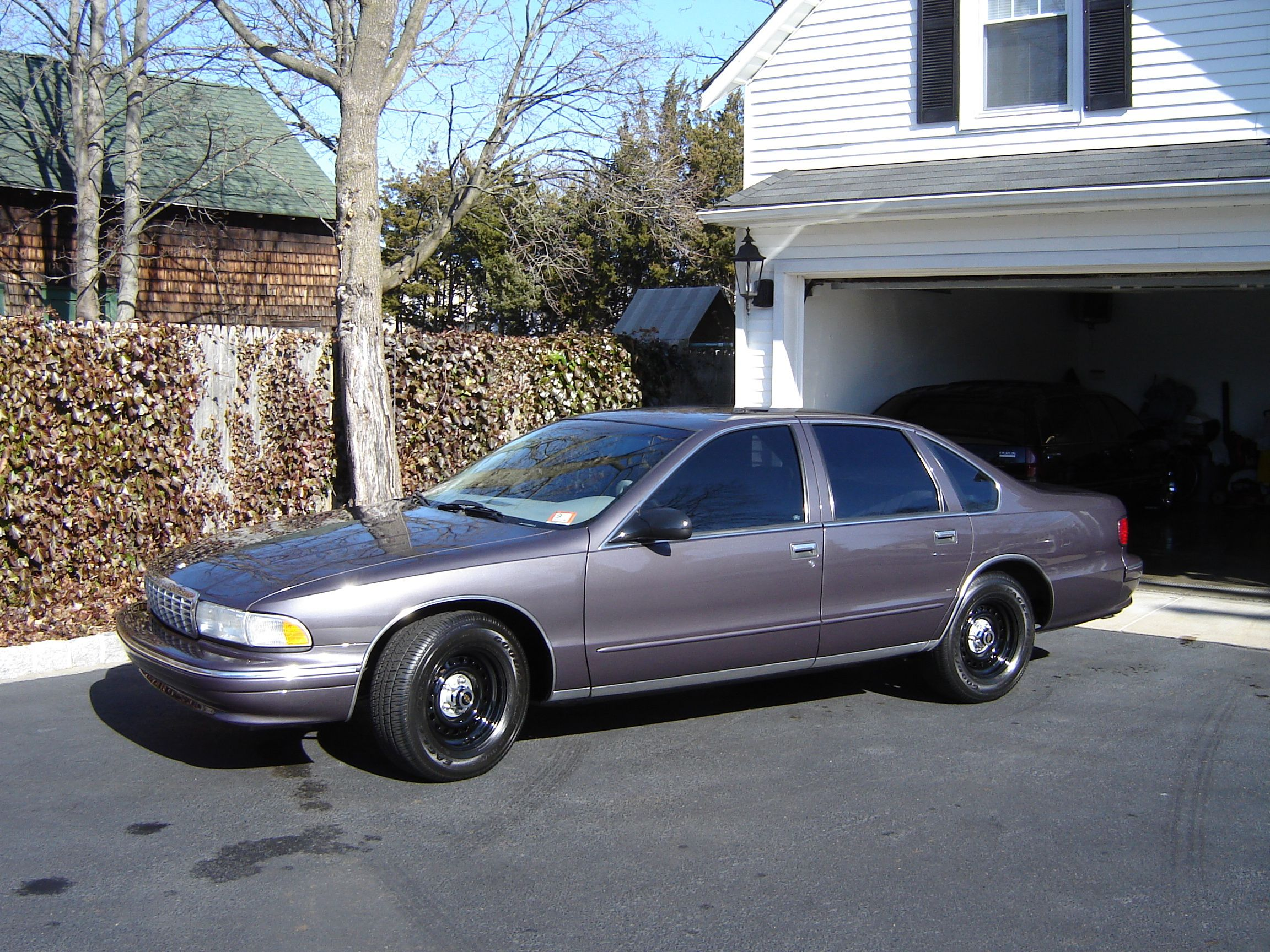 1995 chevrolet caprice cop car