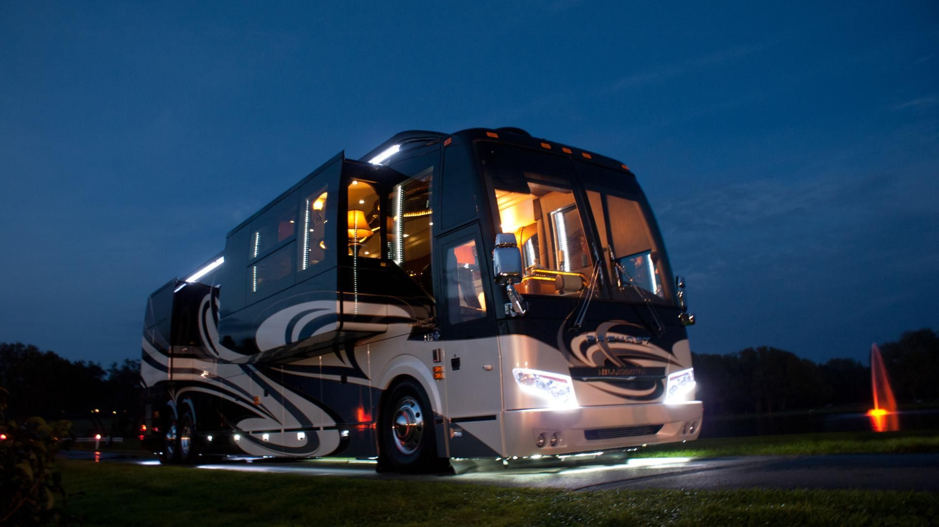 Millennium luxury coaches prevost maybe one day for Million dollar motor coaches