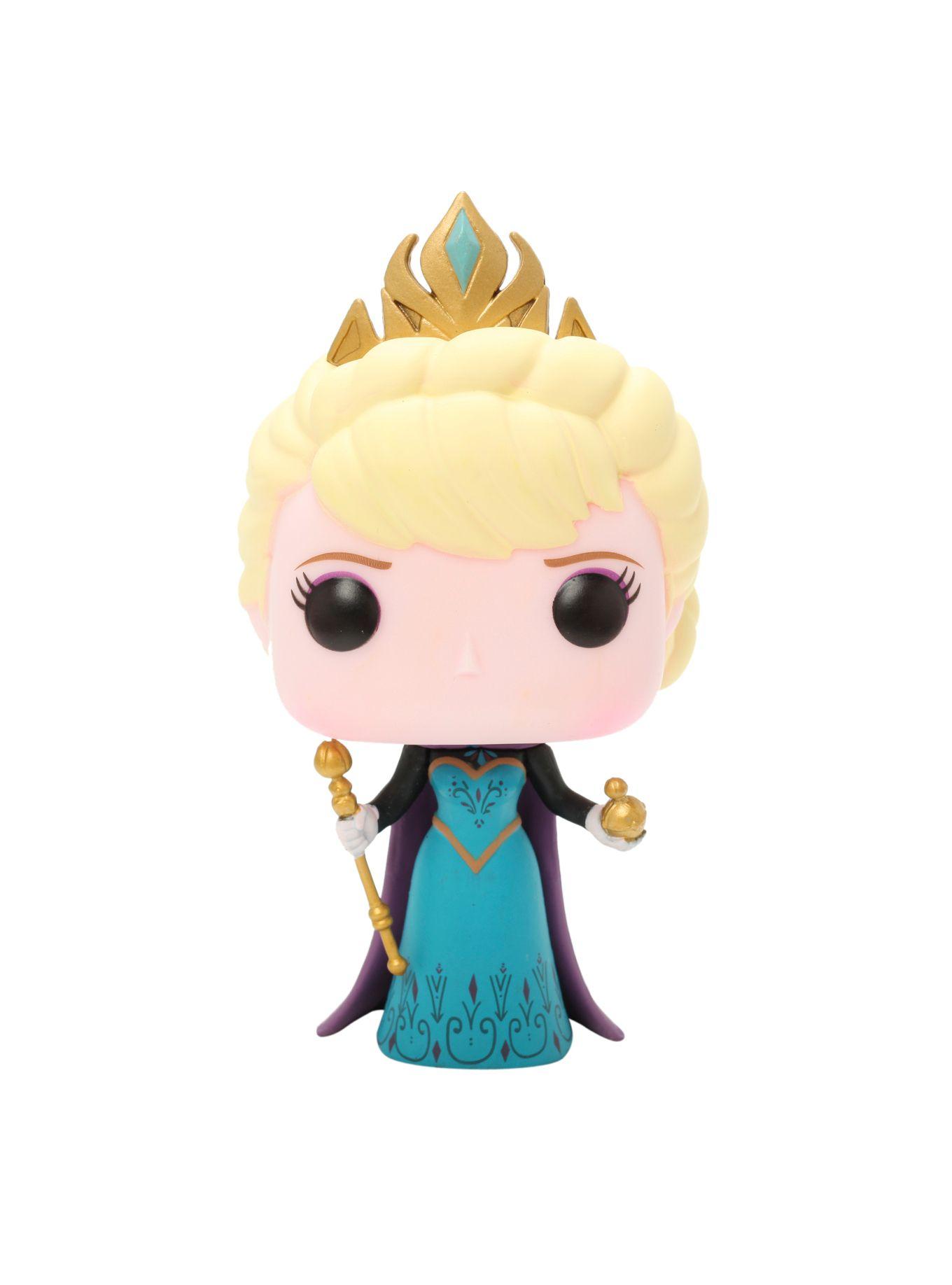 Funko Disney Pop! Frozen Coronation Elsa Vinyl Figure Hot Topic Exclusive   Hot Topic
