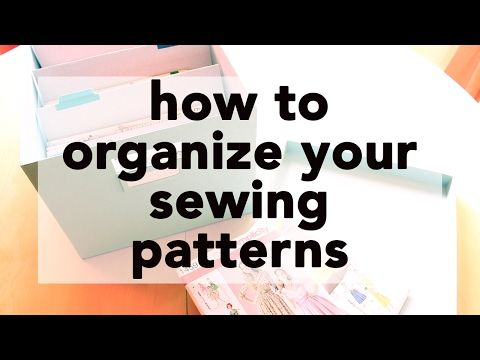 4 How To Store And Digitally Organize Your Sewing Patterns