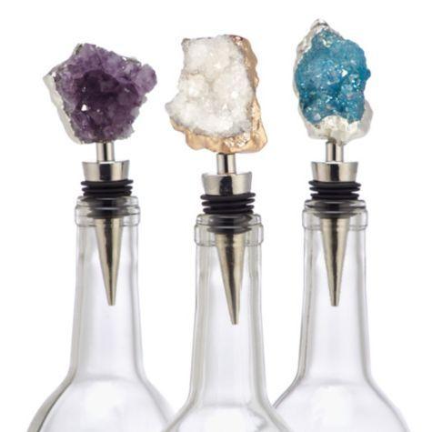Geode Bottle Stopper From Z Gallerie Geode Decor