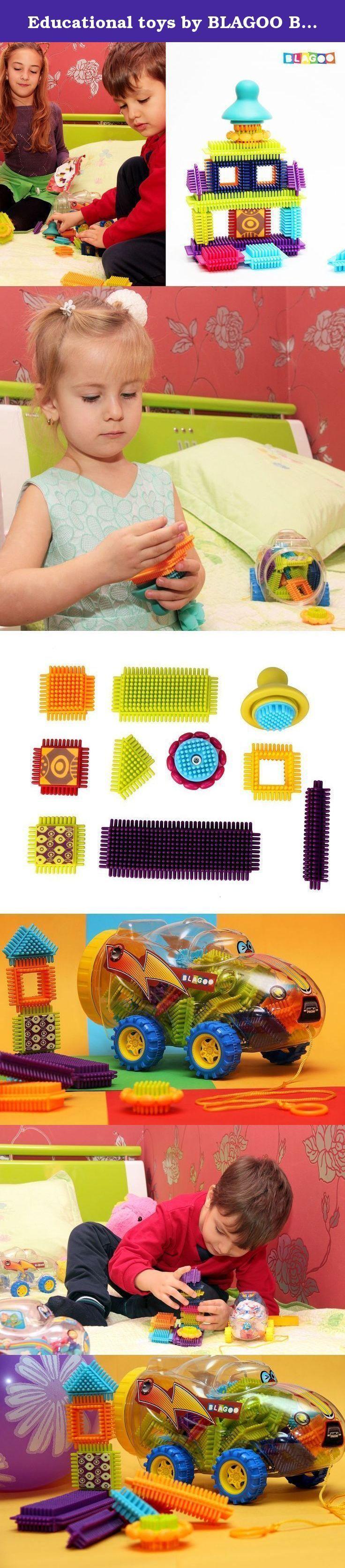 Educational toys by BLAGOO Building Blocks for Boys & Girls 3 4