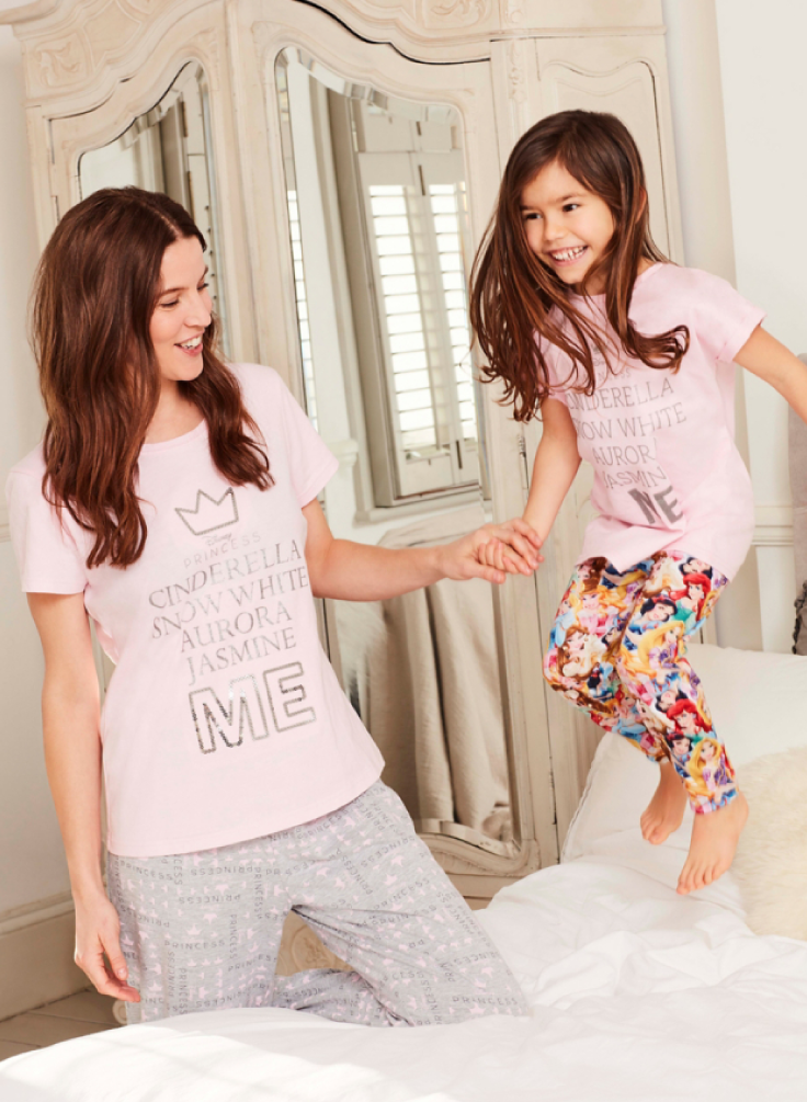 cb89261582a Now you can match with your mini-me with this cute Disney Princess Pyjamas!