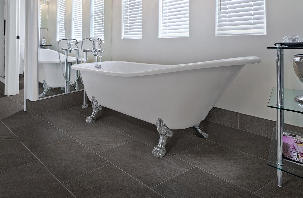 Galvano charcoal is an elegant 12 x 24 porcelain tile from lowes galvano charcoal is an elegant 12 x 24 porcelain tile from lowes rather dailygadgetfo Image collections