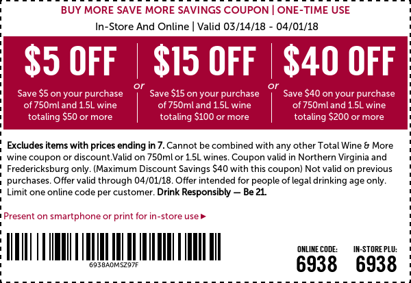 Coupons Totalwine Reston Coupons Online