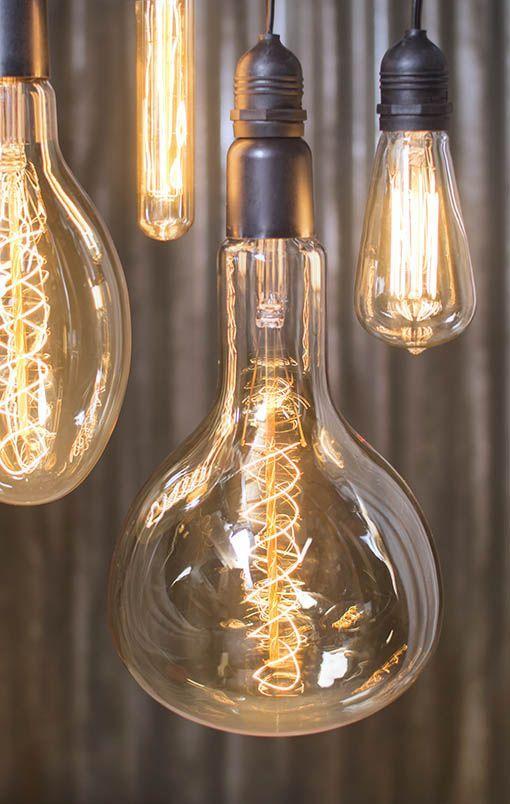 Übergroße Edison Mega Glühbirnen | Éclairage vintage