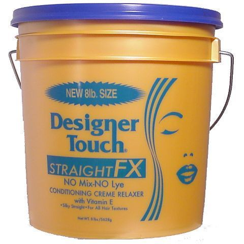 Designer Touch Straight FX NO Mix - NO Lye Relaxer - 8 lb
