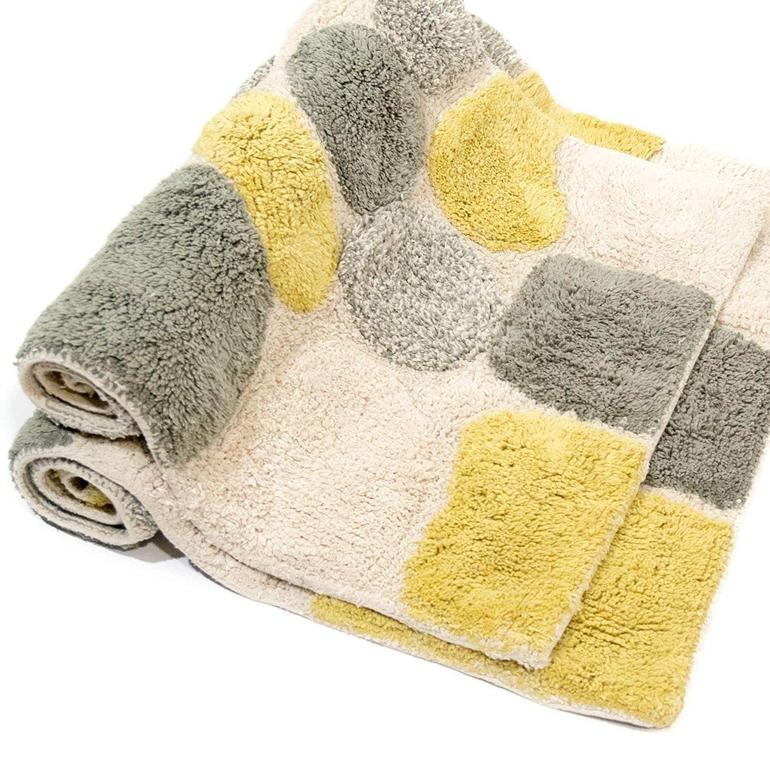 Bed Baths Square Bathroom Hotel Style Bath Rugs Make Floors