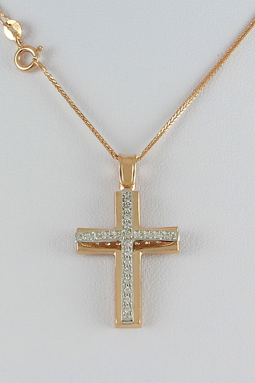 Βαπτιστικός σταυρός με αλυσίδα 8fef1afc2ae