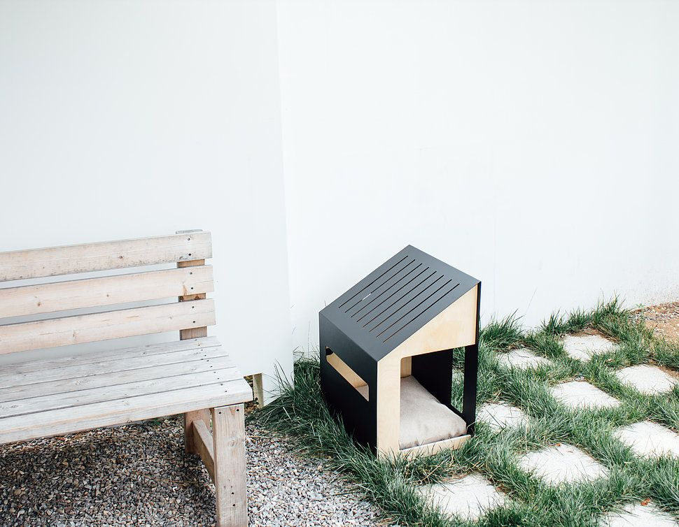 Minimal Dog House Design Bad Marlon | Collection | Gioza | Pinterest