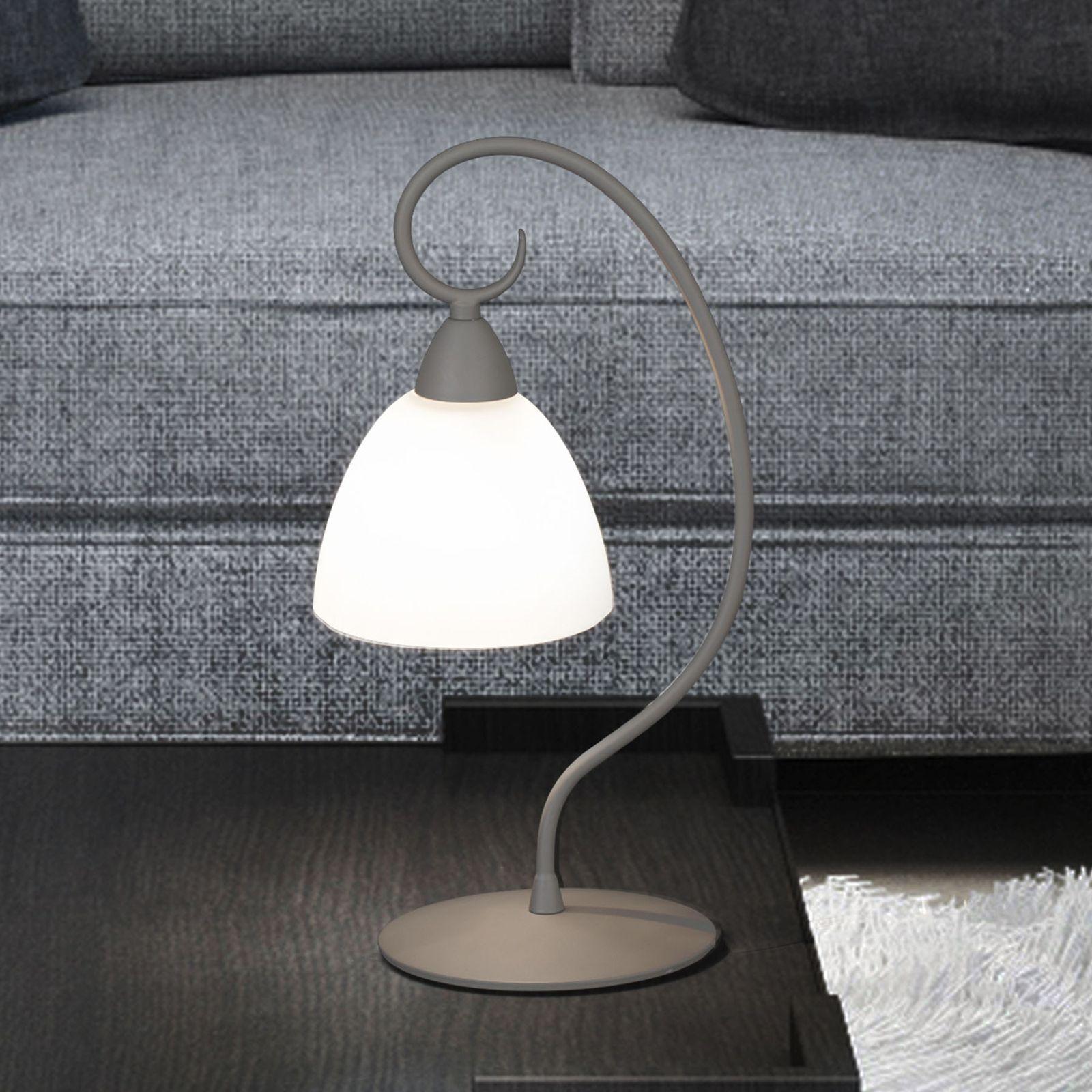 Moderne Fensterbank Lampe 1790/1L von Lam Grau