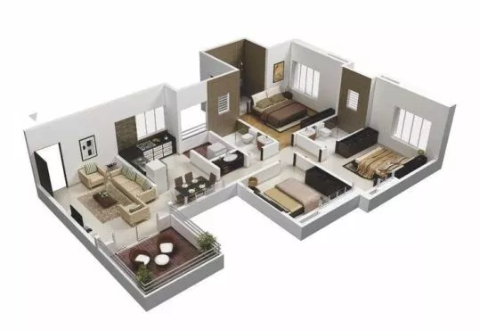 Amazing 3d Floor Plans For You Engineering Basic Floor Plan Design Online Home Design House Floor Plans