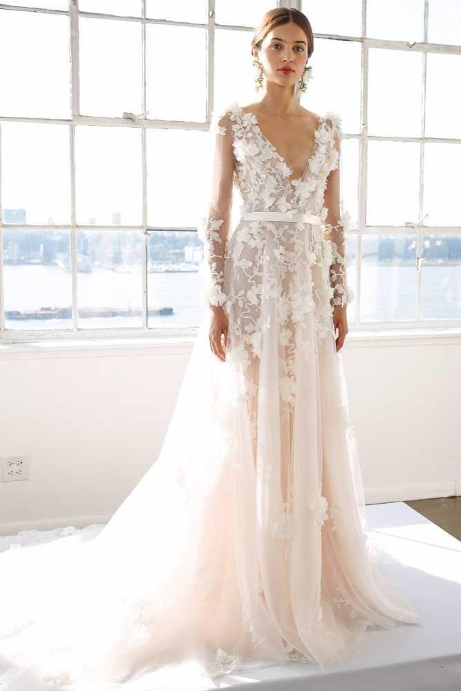 The Most Breathtaking Wedding Dresses From Bridal Fashion Week ...