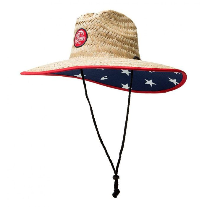 83b4ded9cc611d O'Neill Men's Sonoma Stars Straw Hat // Covers all of your summer sun