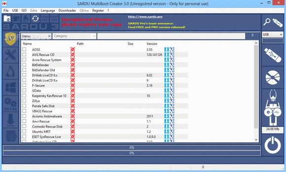 SARDU + Crack Latest - multiboot iso and usb creation tool
