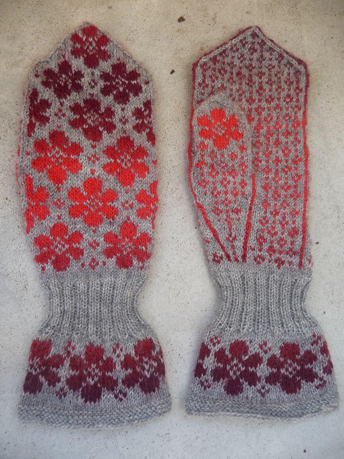 Britta mitten pattern by Johanne Landin | Pinterest | Handschuh ...