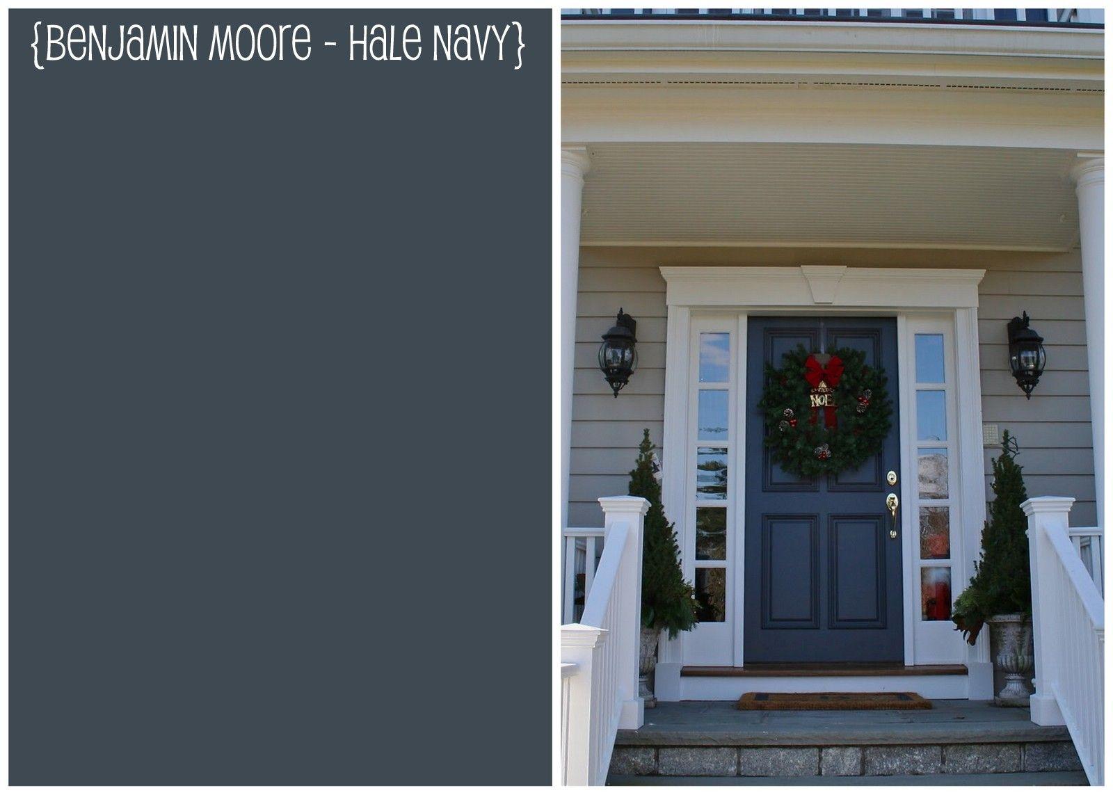 Benjamin Moore Hale Navy And Finally Here Is Door Photo From
