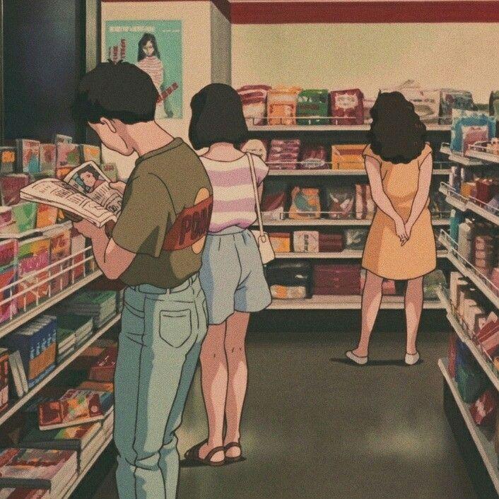 ゚ N A T A ゚ Anime Estetico Ilustracion Retro Arte De Animacion