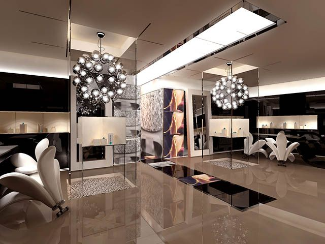 MaJOr Services Interior Design SketchesRetail DesignShowroom