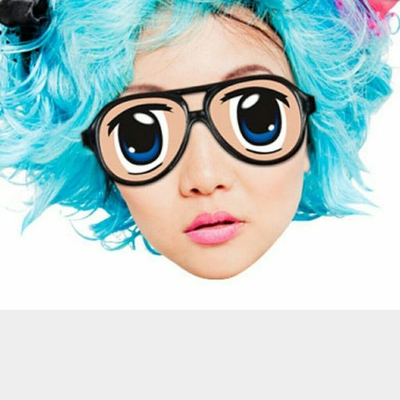 Anime eye glasses Instant kawaii, one second cosplay! Super silly glasses, great for Halloween! Urban Outfitters Accessories Glasses